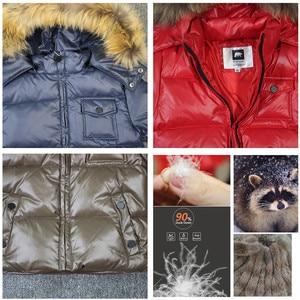Image 5 - ブランドorangemom 2020冬の子供服ジャケットコート、子供服上着コート、白アヒルダウンガールズボーイズジャケット