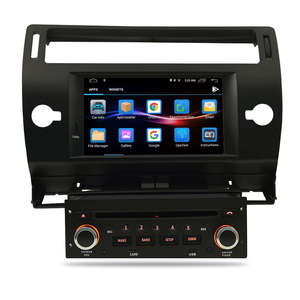 Image 5 - Android 10.0 Car DVD Player GPS Glonass Navi per Citroen C4 C Triomphe C Quatre 2005 2006 2007 2008 2009 Radio Audio Stereo