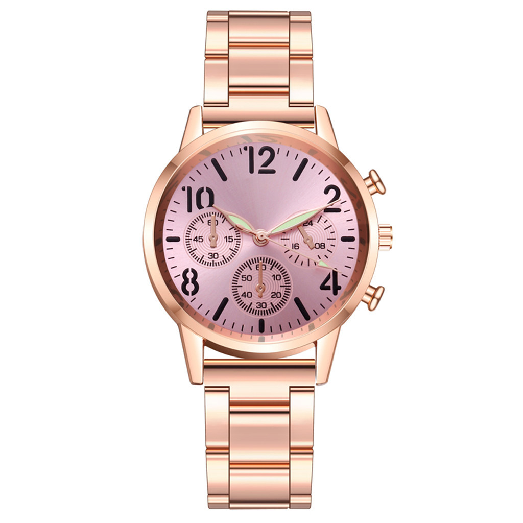 DUOBLA Women Watches Luxury Brand Ladies Watch Quartz Watch Fashion Geneva Stainless Steel Luminous Dial Wrist Watches Women