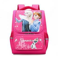 Chłopcy astronauta drukuj tornistry szkolne ergonomia tornistry szkolne plecak dla dzieci duże plecaki Elsa girls Book