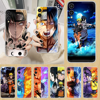 Uzumaki Naruto Uchiha Sasuke 전화 케이스 HUAWEI 명예 nova v 5 7 8 9 10 20 30 C A X Lite Pro 투명한 코크 tpu