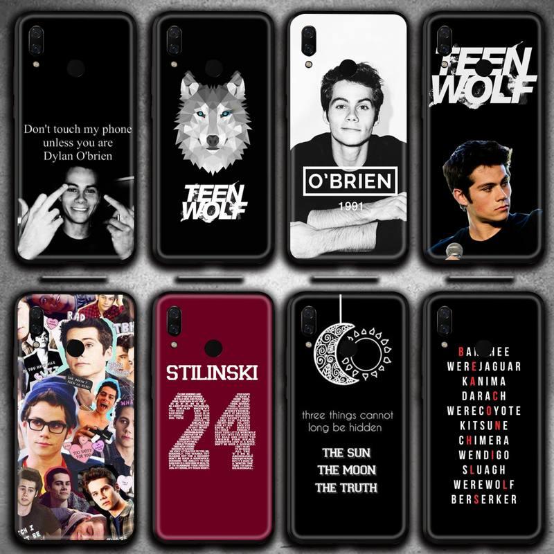 Teen Wolf Derek Hale Phone Case Huawei Y6P Y8S Y8P Y5II Y5 Y6 2019 P Smart Prime Pro