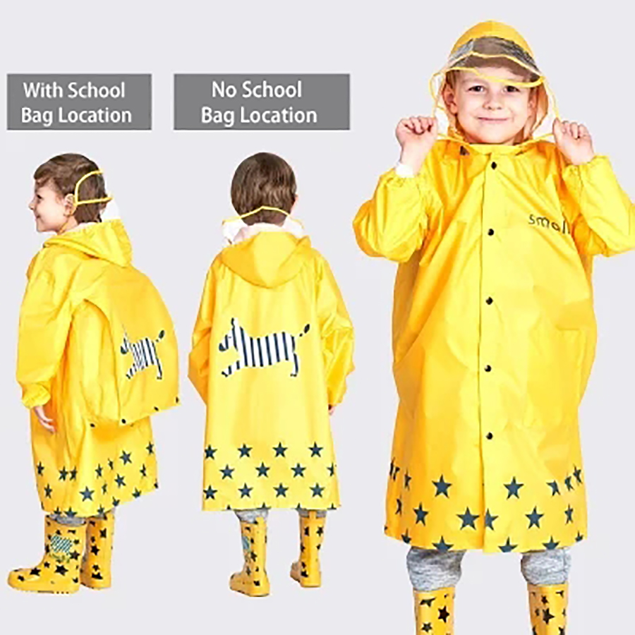 Waterproof Outdoor Kids Plastic Raincoat Poncho Cover Rain Coat Lluvia Regenmantel Women Rainwear Kids Suit Gear Girls B50