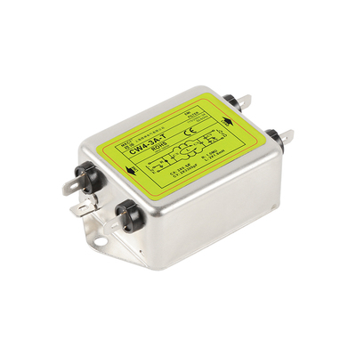 Single-phase AC 220V Military-grade EMI Purification CW4-3A-T 6A 10A 20A 30A Power Supply Filter