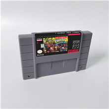 Esel Land 1 2 3 oder Kong Wettbewerb Patrone RPG Game Card US Version Englisch Sprache Batterie Sparen