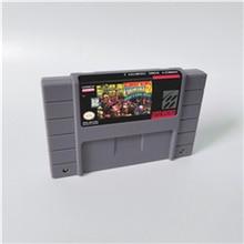 Pays de lâne 1 2 3 ou cartouche de compétition Kong carte de jeu RPG Version américaine batterie de langue anglaise économiser