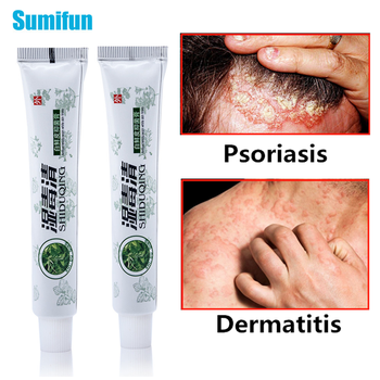 цены 1pcs Psoriasis Cream Skin Care Antibacterial Antipruritic Dermatitis Eczema Ointment Pain Relieving Herbal Medical Plaster P1035