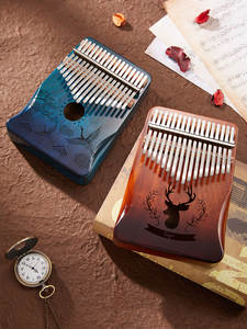 Byla Kalimba-Machine Musical-Instrument Thumb-Piano 30key-Finger-Piano Africa 17-Keys
