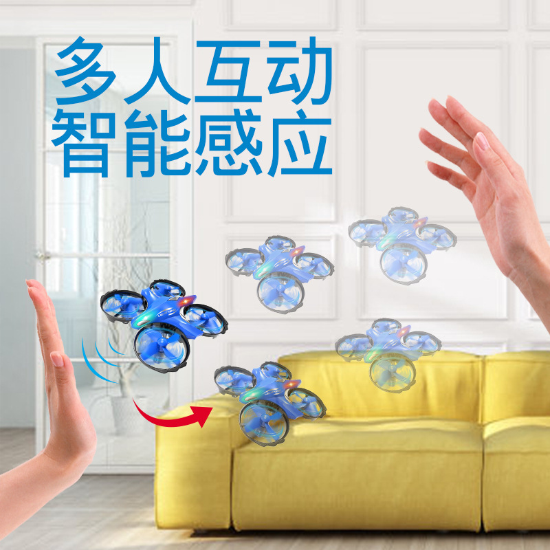 Sensing Quadcopter Smart Infrared Suspension Gesture UFO Mini Remote-controlled Unmanned Vehicle CHILDREN'S Toy