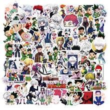 10/50/100 pçs anime hunter×hunter graffiti adesivos flocos para carros motocicletas móveis brinquedos do miúdo bagagem skates decalques
