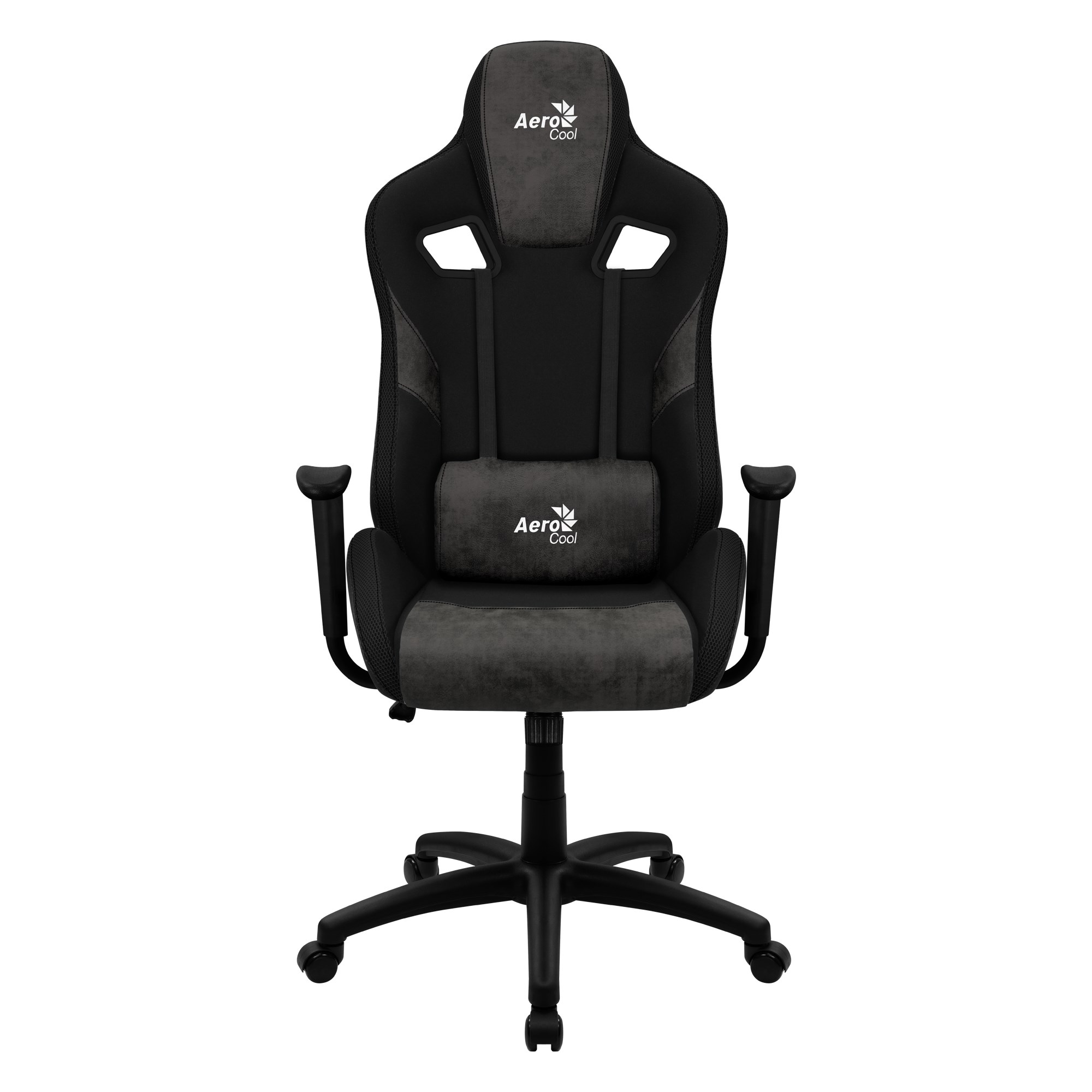 Aerocool COUNT, Gaming Chair, AeroSuede Breathable, Backstop Adjustable, Black