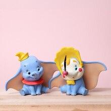 Figuras de Anime de película Dumbo figura de acción de PVC colección de figuras figura 10CM niños regalos de cumpleaños con caja
