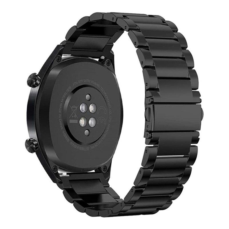 20/22mm Armband Für Huawei Uhr GT2/GT/GT 2E Einstellbar Smart Uhr Band Edelstahl Armband für Huawei Gt2 Uhr Zubehör