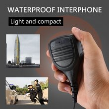 Water Resistant Speaker Mic Microfono Ptt For Motorola Walkie Talkie Gp328 Two Way Radio Pro5150 Gp338 Pg380 Gp680 Ht750 Gp340 N