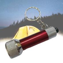 Outdoor Camping Travel Portable Keychain Lighting Flashlight Flashlight Flashlight Mini 5 Super Aluminum LED Bright U3H3 cheap KUS7928 Battery CPT 5 Lights