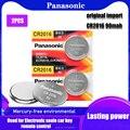 2 шт. оригинальный бренд для PANASONIC cr2016 BR2016 DL2016 LM2016 KCR2016 ECR2016 3v кнопочный элемент монетные литиевые батареи для часов