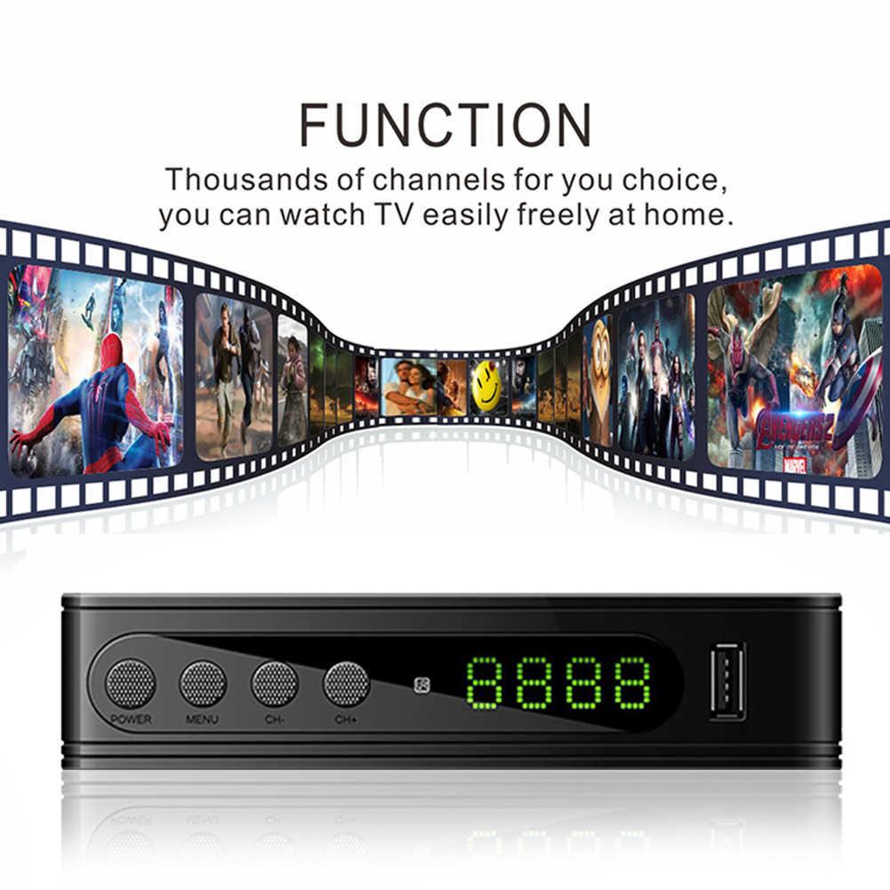 DVB-T2/DVB-T récepteur de télévision tnt HD récepteur de télévision numérique DVB T2 H.264 récepteur de télévision Wifi terrestre décodeur pour DVBT2 russe