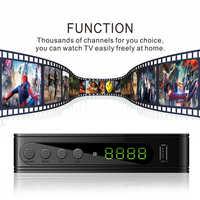 DVB-T2 / DVB-T DTT TV Receiver HD Digital TV tuner Receiver DVB T2 H.264 terrestrial Wifi TV Receiver decoder for Russian DVBT2
