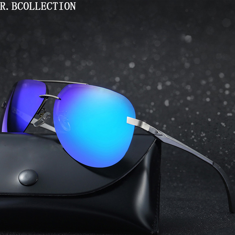 Aluminum Fashion men women polarized Sunglasses Women men UV400 Pilot driving sun Glasses vintage oculos de sol