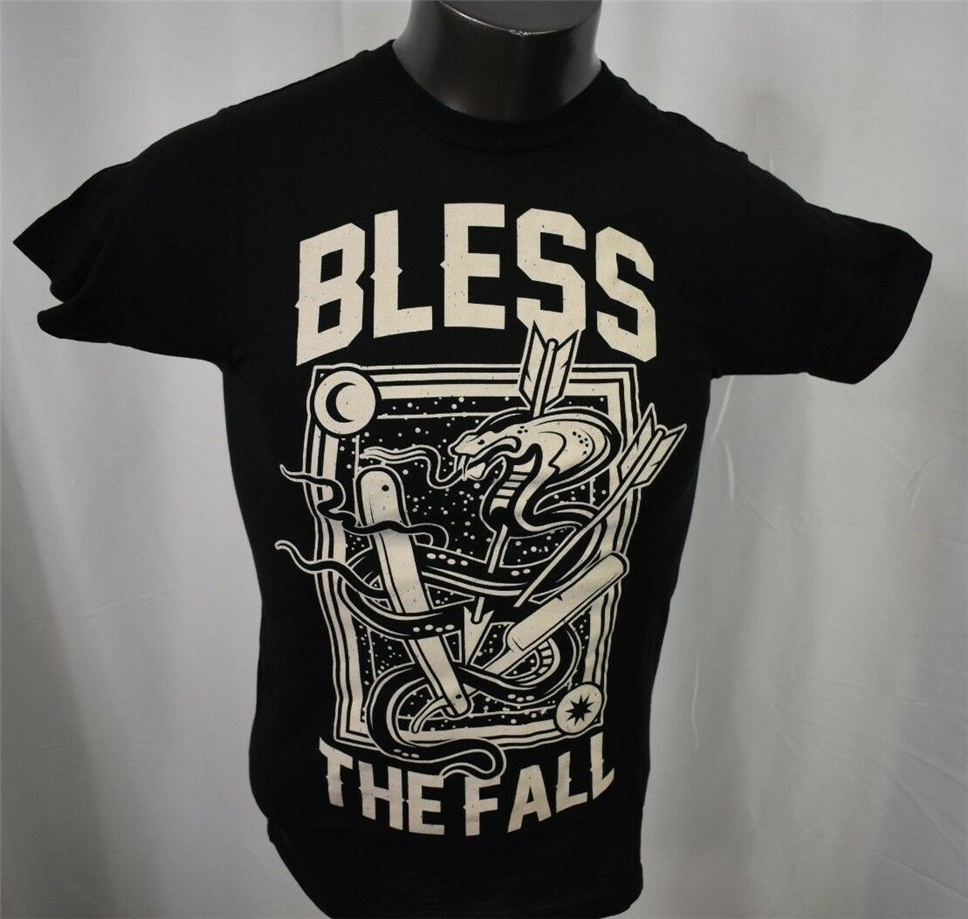 Bless The Fall Mens Snake And Arrows Shirt New Xs, S, M, L, Xl Tops Tee Tee Shirt
