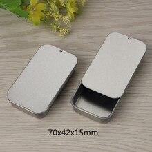 Size: 70x42x15mm sliding tin box/mint tin box/lip balm packi