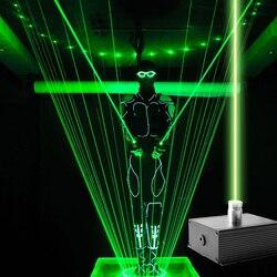 Зеленый лазерный светильник с мечом, большой сценический волшебный показ, реквизит для освещения, флуоресцентный лазерный светильник для DJ...