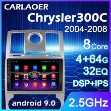 Radio Multimedia con GPS para coche, Radio con navegador, 8 núcleos, Android 9,0, 2 Din, WIFI, para 2004, 2005, 2006, 2007, 2008, Aspen Chrysler 300C