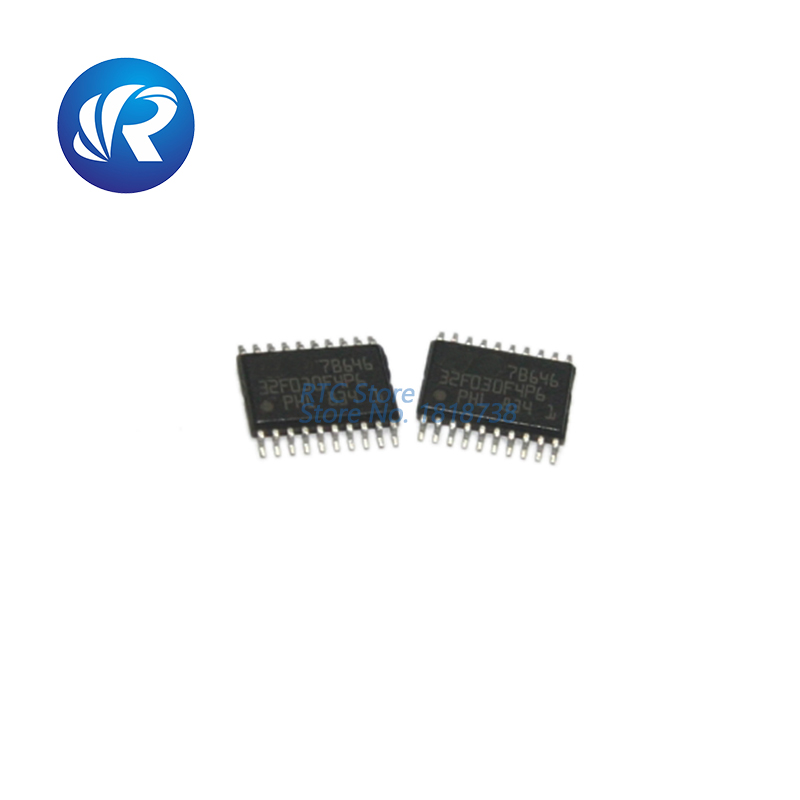 Free Shipping  10pcs STM32F030F4P6 Value-line ARM-based 32-bit MCU TSSOP-20