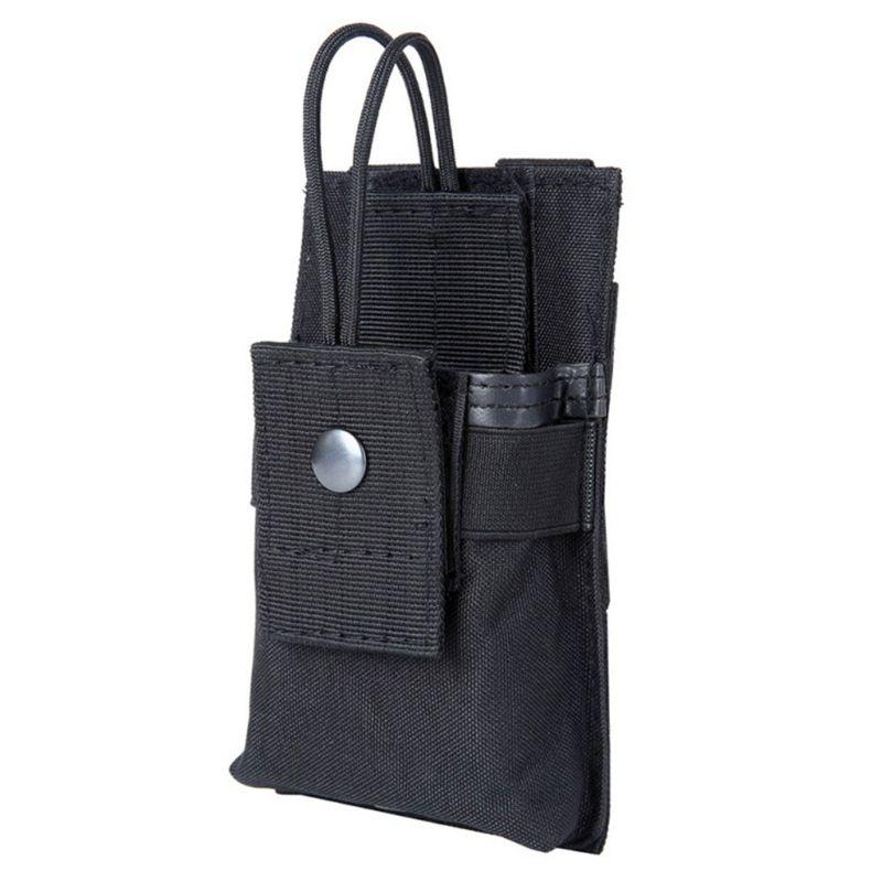 1000D Tactical Radio Pouch Walkie Holster Talkie Holder Waist Belt Bag Molle Radio Pouch