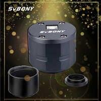 Cámara de fotografía de visión planetaria con telescopio USB de 1,25 y 2MP para astronómicos profesionales F919A