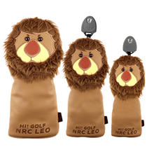 Wood-Head-Cover Driver-Protection Universal Golf-Club Cute for Adults-Player Birthday-Gifts
