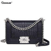 HOT ZOOLER genuine leather bags women 2019 small clutch for messenger bag luxury brand purses fashion tote bags#MD208