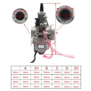 Image 4 - ZSDTRP עבור Mikuni קרבורטור Vergaser פחמימות TM24 TM28 TM30 TM34 TM32 TM38 שטוח שקופיות קרבורטור רז TM34 2 42 6100