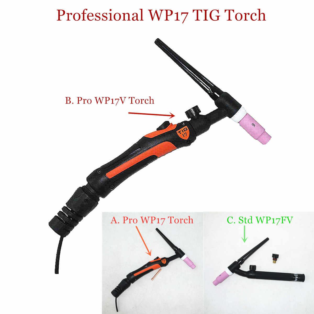 con boquilla flexible kit de pistola de soldadura por arco TIG//WP-26F juego de cabeza de antorcha de soldadura TIG Antorcha de soldadura Tig