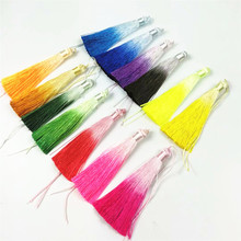 New manual color changing tassels Gradient tassel clothing silk spikelets for DIY jewelry making materials jewelry accessories