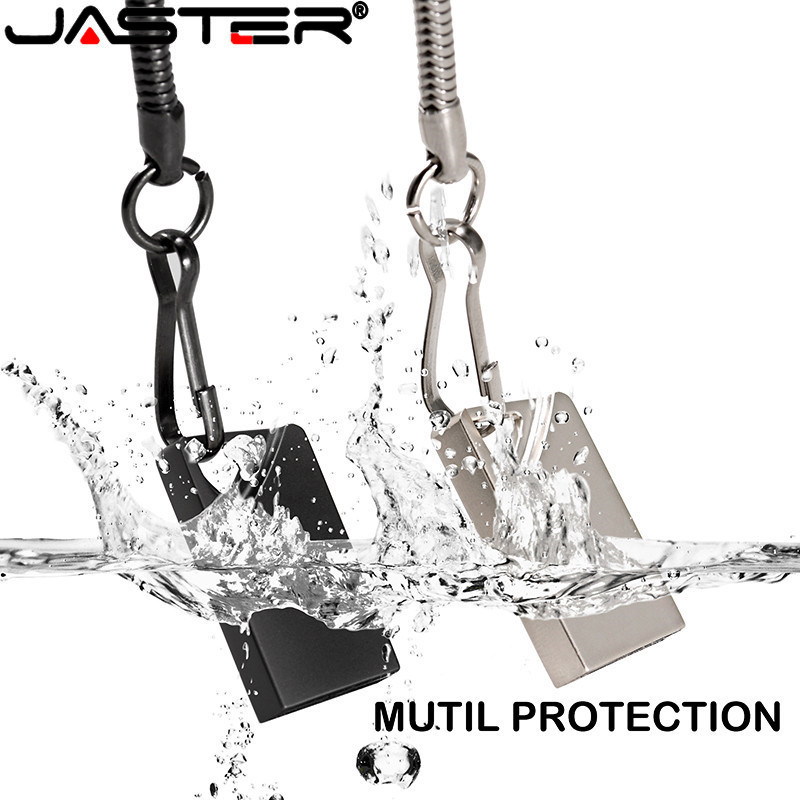 JASTER New Super Mini Usb Flash Drive Metal Usb Stick 64GB Pen Drive USB Flash Drive 32GB 16GB Waterproof Pen Drive Flash Disk