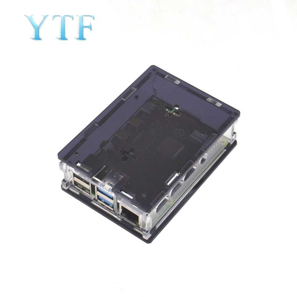 פטל PI 4 מקרה תיבת דגם B 1 GB/2 GB/4 GB פלסטיק מארז שיכון מעטפת כיסוי של פטל PI 4 B PI4 4B