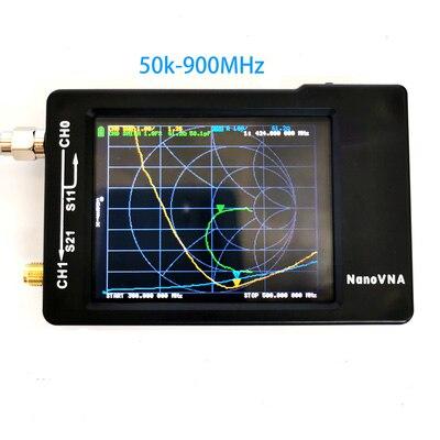 Logiciel radio Analizador Original de l'antenne de l'analizador de la rouge del vecteur de NanoVNA 600m grande batterie
