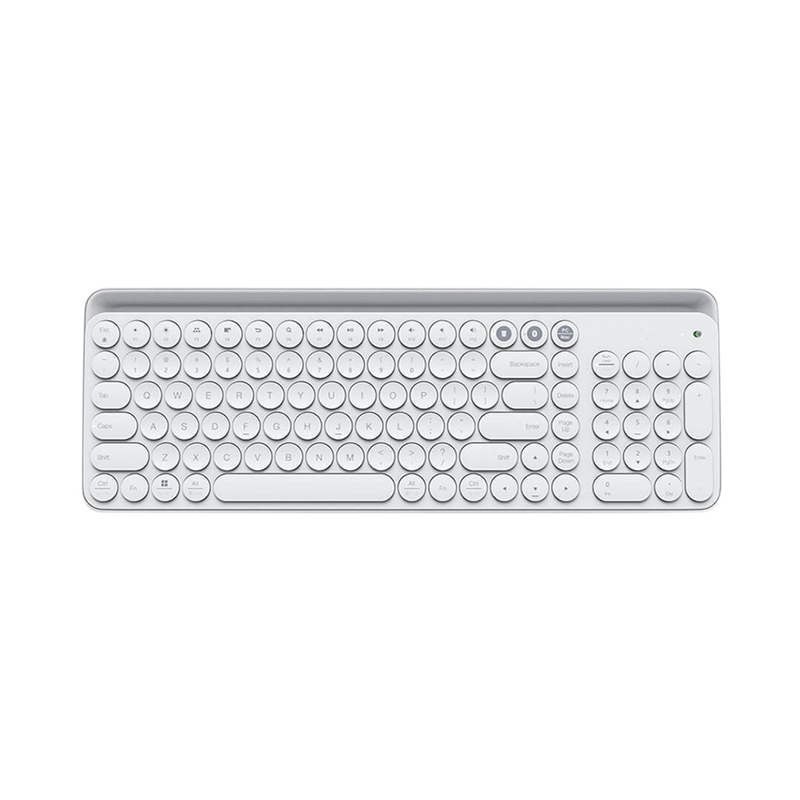 Bluetooth Dual-Mode Keyboard Mwbk01 104-Key 2.4Ghz Multi-System Compatible Wireless Portable Keyboard 1