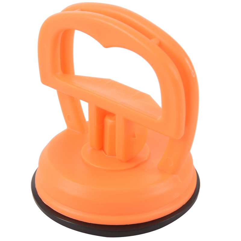Orange red suction cup Dent puller Remover of glass car lift handle