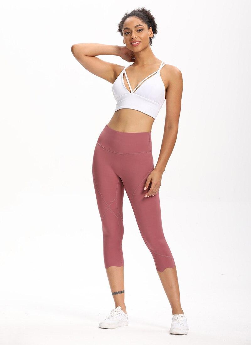 H3c0aa74a17d74fba9e849aa5031e4783F Cardism High Waist Sport Pants Women Yoga Sports Gym Sexy Leggings For Fitness Joggers Push Up Women Calf Length Pants Wave