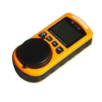 Detector De 4 Gases | Detector Analizador De Gas HT-1805 4 En 1 Portátil O2 CO H2S Comprobador Lel Detector De Concentración Tóxica Y Dañina