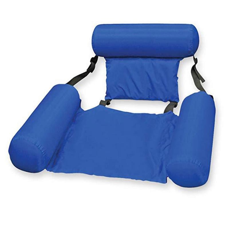 FIFY STORE Matelas gonflable flottant pour adultes, chaise longue de piscine pliable