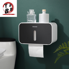 Shelf Wall-Mounted Paper-Box Tissue-Organizer Toilet Bathroom-Product Waterproof Rack