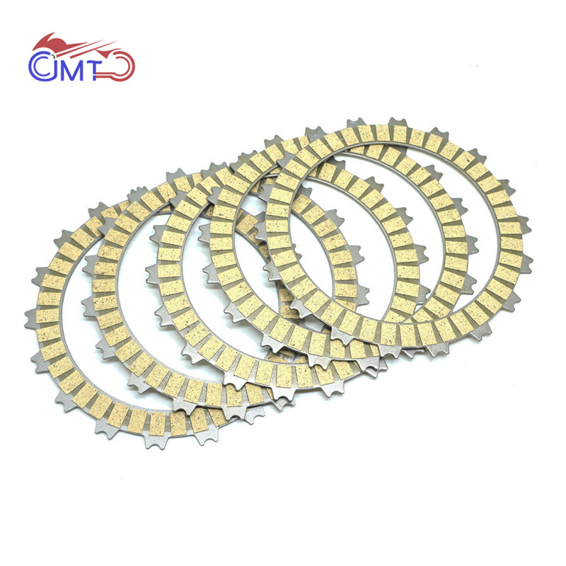 For Honda CB300F CB 300 F 2013-2017 CBR250R CBR 250 R 2011 2012 2013 Fiberous Clutch Friction Disc Plate Kit 5 PCs CB300 CBR250
