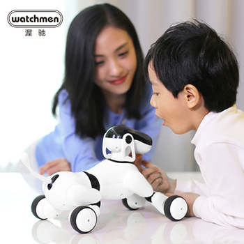Smart AI Robot Dog Voice Control Puppy Go Touch Interactive toys for Boys Educational Funny Gift Motion Dance Songs Music Speak face change recording voice change smart robots voice control educational interactive toys rc robots for children kids