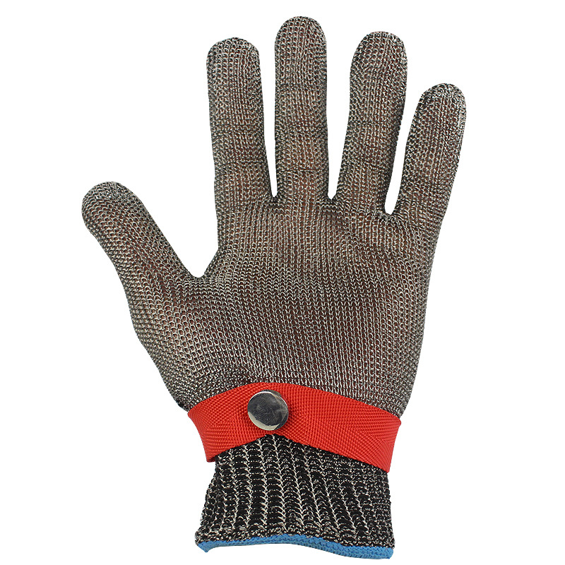 Image 4 - 5 Level Anti cutting Work Gloves Stainless Steel Wire Safety Gloves Safety Stab Resistant Work Gloves Cut MetalSafety Gloves   -