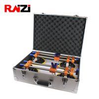 Raizi 1Pair Stone Seam Setter With Aluminum Case for Seamless Joint Leveling 6 inch Granite Countertop Manual Installation Tools