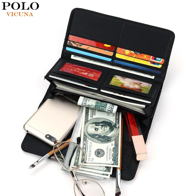 VIKUNJA POLO Mode Marke Luminous Geometrische Muster Frauen Wallet Kühlen Lange Reise Kupplung Brieftasche billetera mujer Großhandel