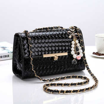 New Style Bag WOMEN'S Cross-body Bag WOMEN'S Bag Bag Korean-style Bag with Chain Shoulder Bag/ Hand Bag Versatile Fashion Fashio 1